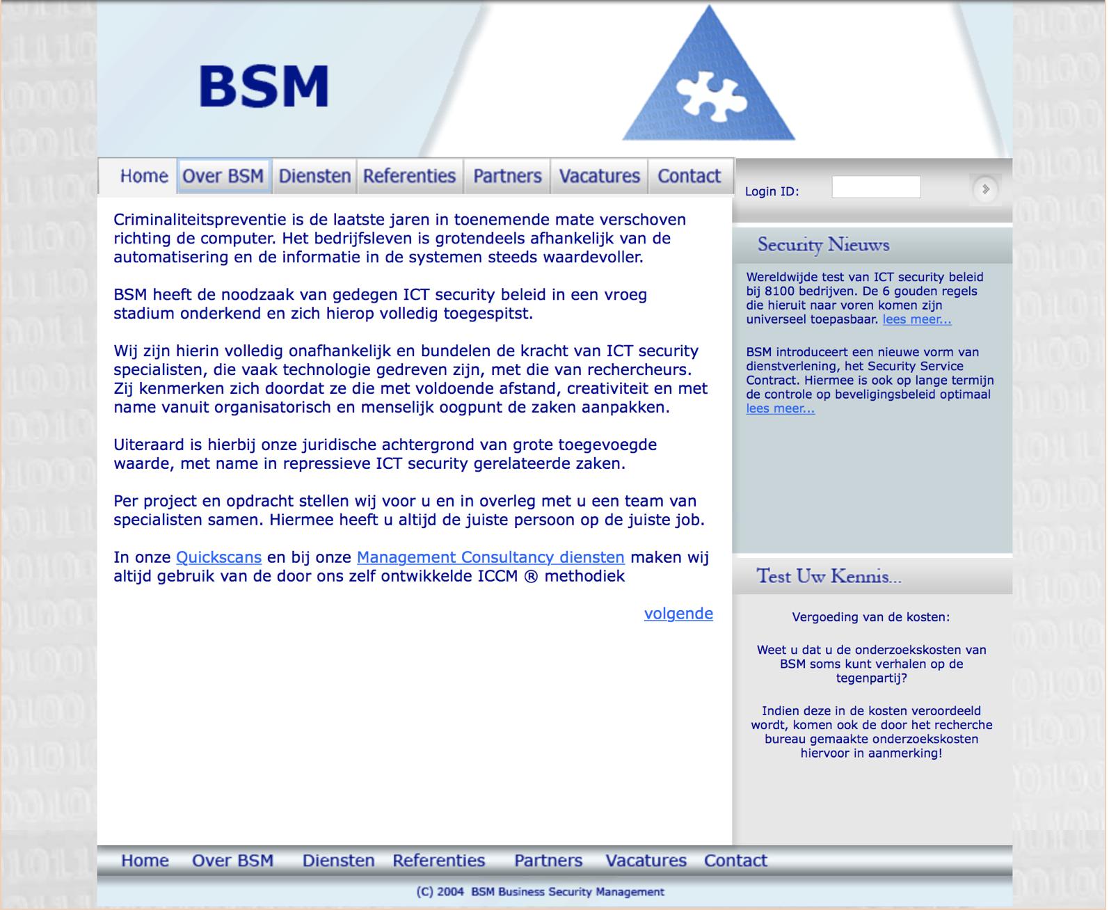 BSM rechercheonderzoeken
